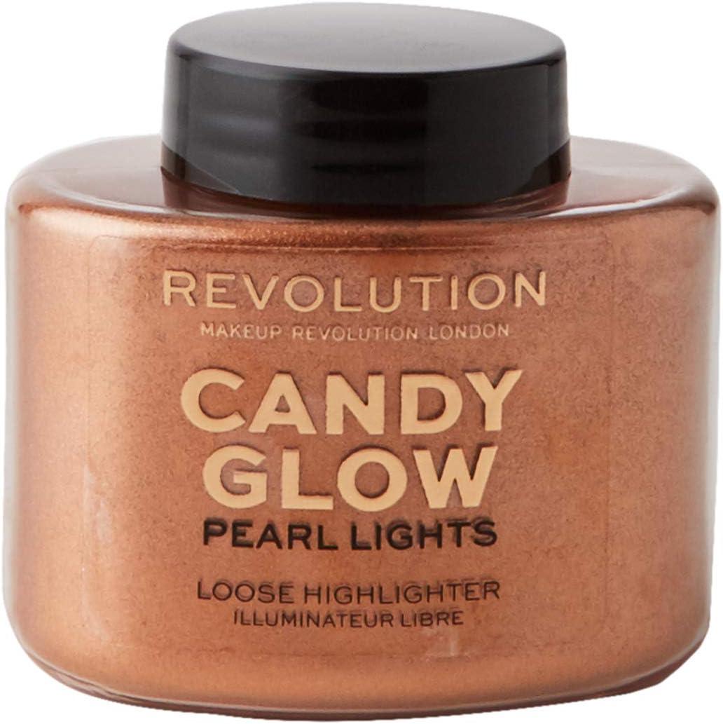 Makeup Revolution Pearl Lights Loose Highlighter Candy Glow Puder rozświetlający sypki 25g