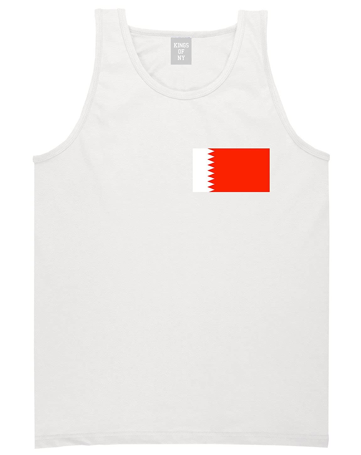 Bahrain Flag Country Chest Tank Top Shirt