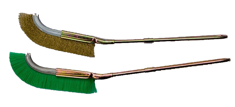 Jin/Bonsai supabrands doble cepillos de limpieza (nylon y latón)