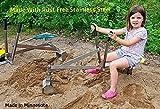 Playground Equipment Sand Digger Sandbox Backhoe Crane Excavator
