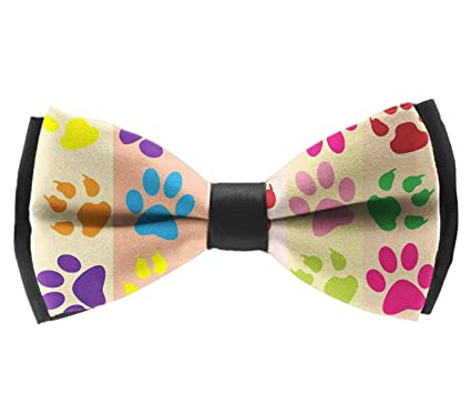 Adjustable Length Tuxedo Bow Tie Birthday Gift Formal Fun Occasions Bowtie