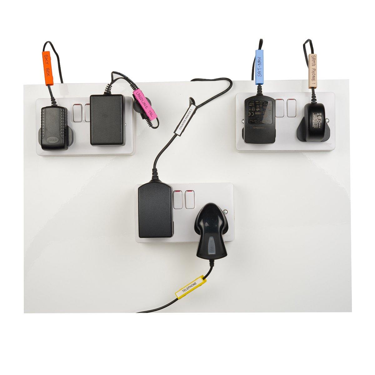 gross von 5 bis 7 mm MIT FREIEN CABLEBUG PEN INKLUSIVE Packung mit 80 st/ück Cablebug5