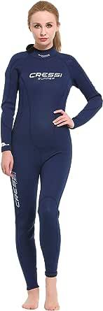 Cressi Summer Lady Wetsuit Traje de Buceo para Mujer en Neopreno 2.5 mm