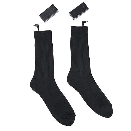 5ab90fefd4 Aolvo Heated Socks for Women Men Battery Operated Heated Socks - Battery  Powered 3V Heated socks