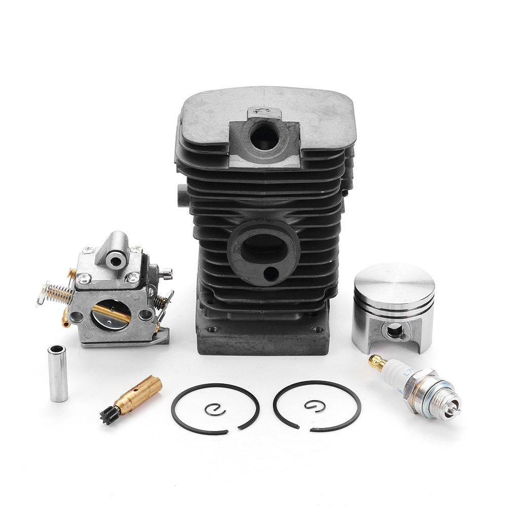 EsportsMJJ Effetool 38 Millimetri Cilindro Pistone Kit Pin Con Pompa Olio In Zama Per Stihl Ms170