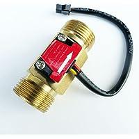 G3/4 Roscado Hall Caudalímetro Sensor Interruptor de Flujo