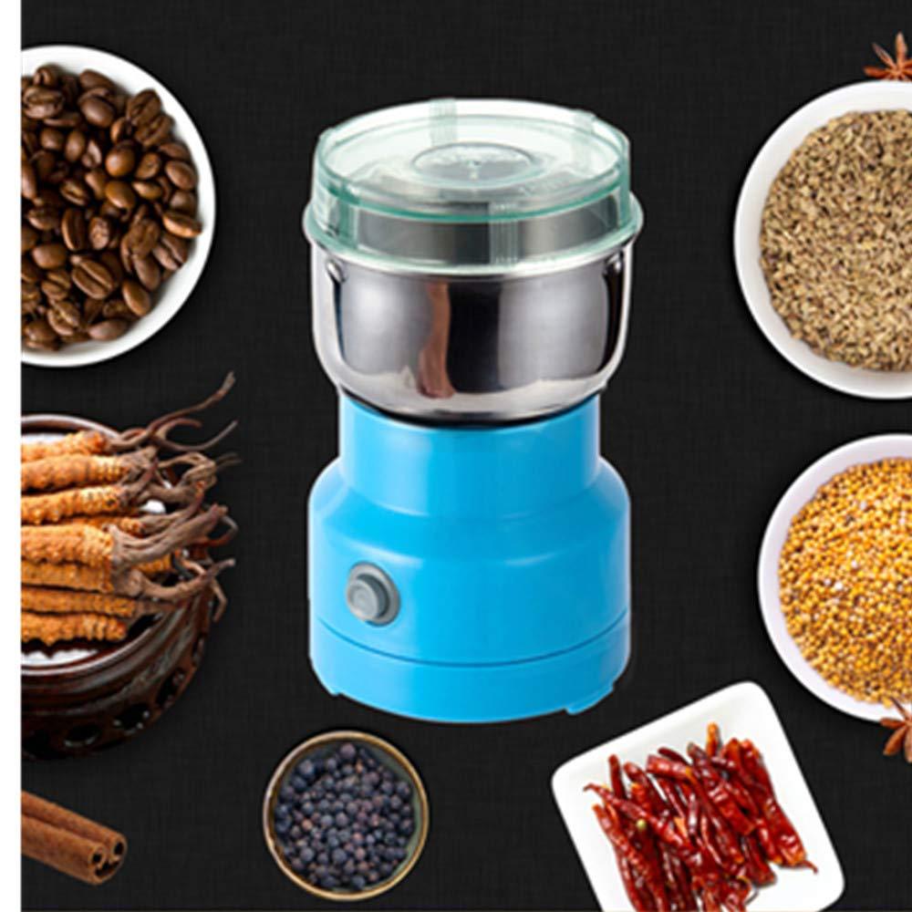 Taka Co Salt and Pepper Grinder Mini Electric Food Chopper Processor Mixer Blender Pepper Salt Garlic Seasoning Grinder Extreme Speed Grinding Kitchen Tools