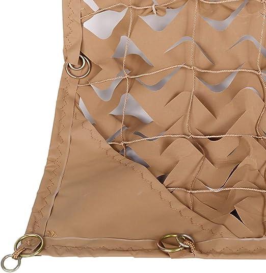 ZHJBD Camouflage Sombra de Camuflaje del ejército del Red Red Decoración Militar Nets Malla Blanca Caza Jardín Acampar al Aire Libre Sun Refugio Lona Carpa táctico Malla Nets (Size : 3x5m): Amazon.es: