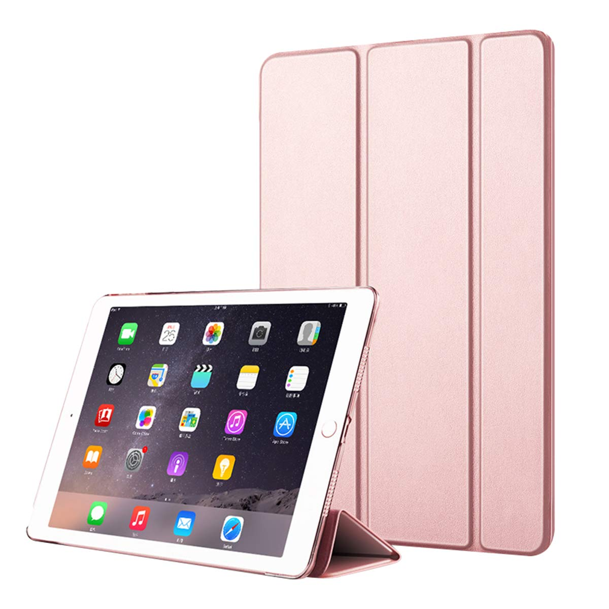 新しいエルメス iPad プレミアム B07L98JDVB PUレザー PUレザー フリップケース プレミアム ケースリストレザーケース カード付き 0049-10-252 ローズゴールド B07L98JDVB, ニチクラショップ:a392d6d2 --- a0267596.xsph.ru