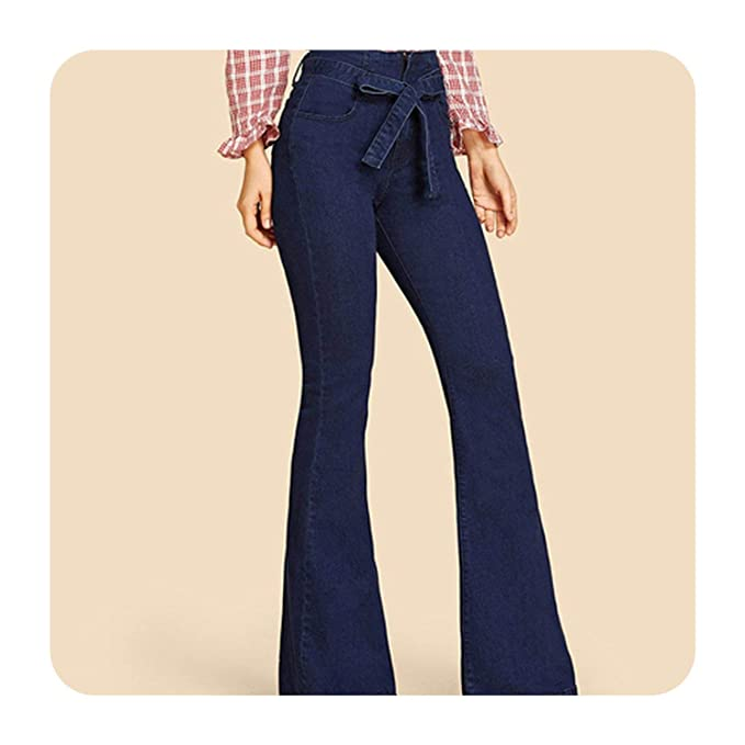 Amazon.com: Pantalones vaqueros para mujer, estilo vintage ...