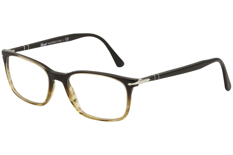 229efd2e4bc2b Persol Men s Eyeglasses PO3189V PO 3189 V 1026 Brown Tortoise Optical Frame  53mm  Amazon.co.uk  Clothing