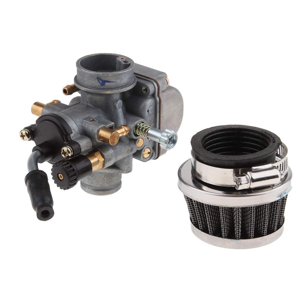 Filtro Aire de Carburador para KTM50 de 33 mm Sistemas Combustible C/ómodo