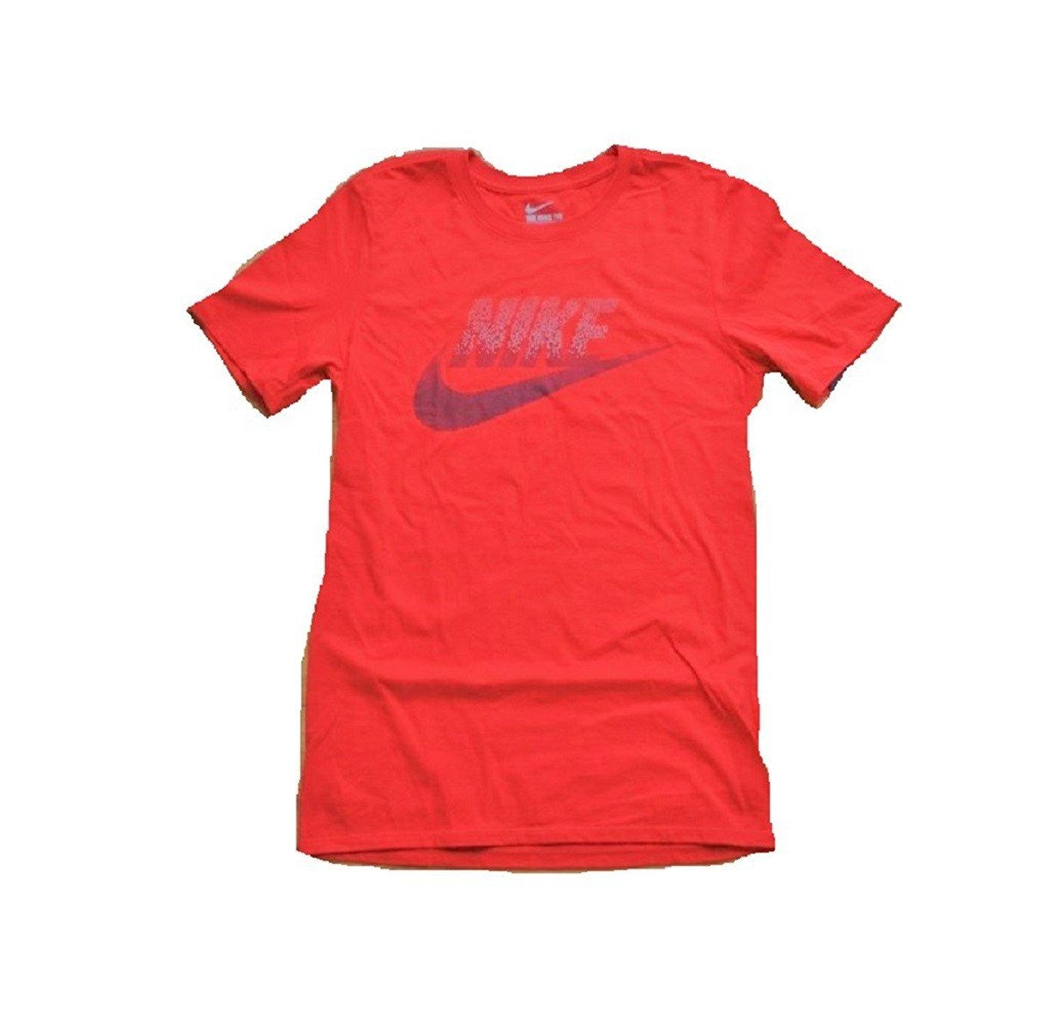 d6eb07840e7 Galleon - Nike Mens Athletic The Nike Tee Crew Neck Short Sleeve T-Shirt  (Red Dots