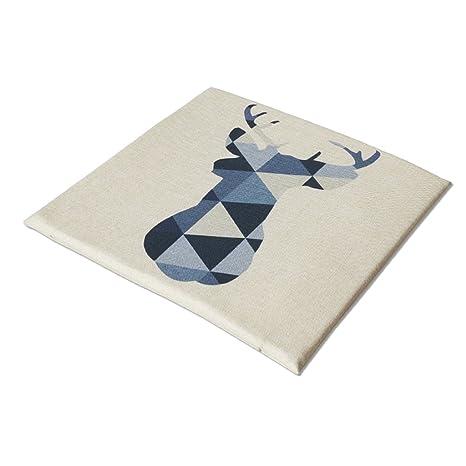 Amazon.com : Duzhengzhou Cushion 40 40 Cm - Linen ...
