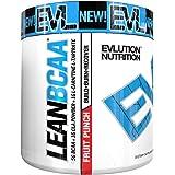 Evlution Nutrition EVL LeanBCAA Powder, 30 Servings (9.4 Oz) (Fruit Punch)