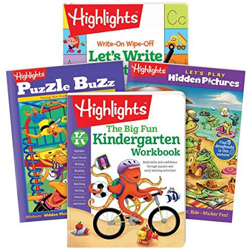 Highlights Kindergarten Activity Pack