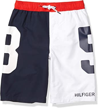 Sun Protection Tommy Hilfiger Boys Swim Trunks with UPF 50
