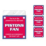 Tree-Free Greetings NC38147 Pistons Basketball Fan