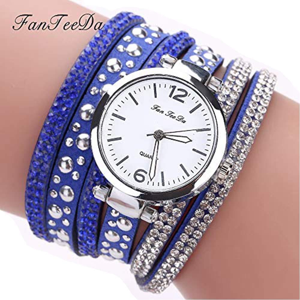 chengzhijianzhu_ Quartz Watches Ladies New Watches Women Fine Leather Band Winding Analog Quartz Movement Wrist Watch or Teen Girls Men Gift