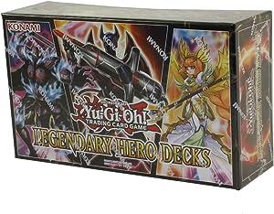 Yu-Gi-Oh! Cards Legendary Hero Decks - 5 Ultra Rare | Contains 150 Trading Cards