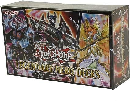 Yu Gi Oh Itm0000306 Yugioh Legendary Hero Decks Amazon Ca Toys Games