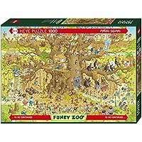 Monkey Habitat Puzzle 1000 Teile
