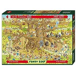 Heye 29833 Monkey Habitat Puzzles