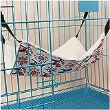 Suicazon Hamsters Hammock Kitten Hanging Bed Pet Cage Comforter, L