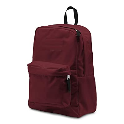 JANSPORT Backpack Superbreak School Backpack Original Select Color: Viking Red, 1550 Cubic inches (00-C2RSQY-DE): Sports & Outdoors