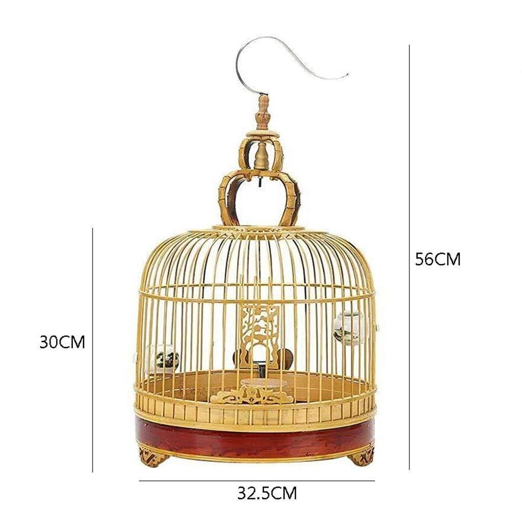 Xinxinchaoshi Jaula de pájaros Redondo Nido para Mascotas Patrón ...