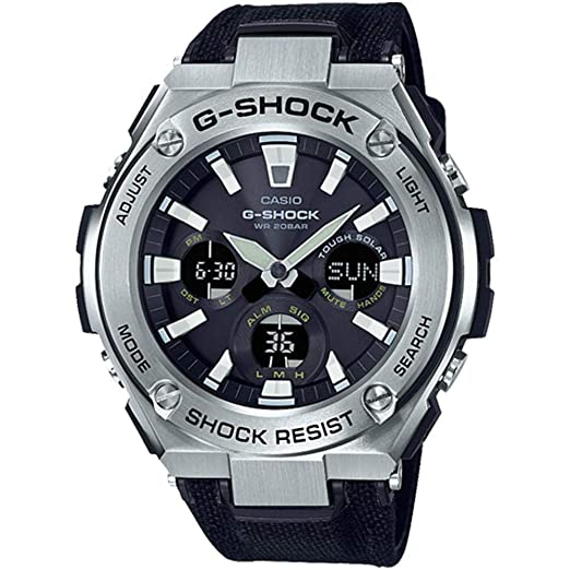 abadb118e Buy Casio G-Shock Analog-Digital Black Dial Men's Watch-GST-S130C-1ADR  (G859) Online at Low Prices in India - Amazon.in