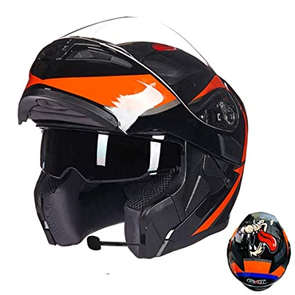 JL-Q Bluetooth Integrado Modular Flip Cara Moto Casco Sun Shield Mp3 Walkie Talkie Casco