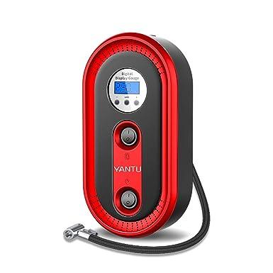 BaZhaHei Auto y Moto Accesorios YANTU Mini compresor de Aire portátil 12V Auto Car neumático eléctrico