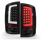 ACANII - For Black 2002-2006 Dodge Ram 1500 03-06 2500 3500 LED Bar Tail Lights Brake Lamps