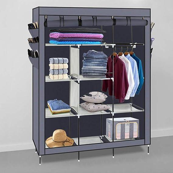 Amazon.com: HOBBYN - Organizador de armario de ...