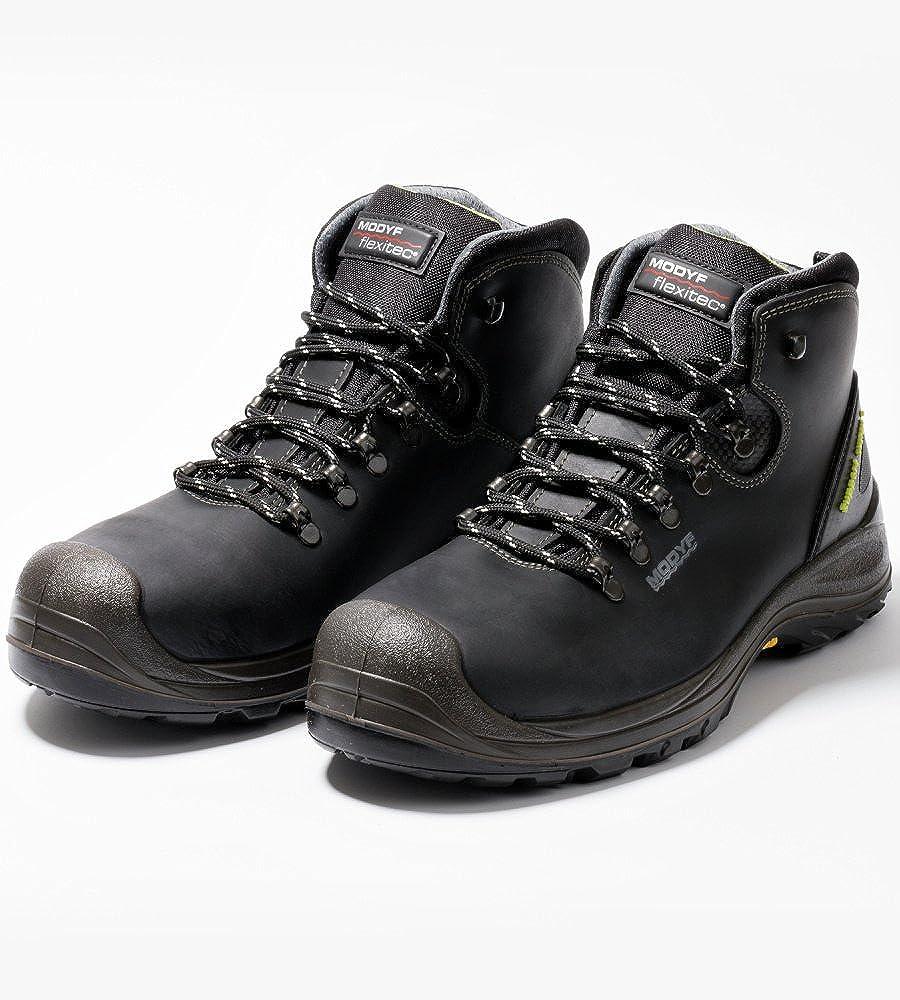 Botas de seguridad S3 Modyf Flex ITEC Arcori Plus, color negro, talla 46: Amazon.es: Zapatos y complementos