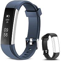 Rayfit Pulsera Actividad Reloj Inteligente Fitness Tracker Podómetro Monitor de Sueño Contador de Calorías Pasos…