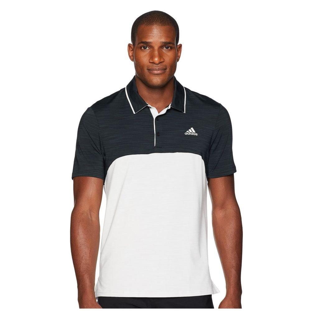 (アディダス) adidas Golf メンズ ゴルフ トップス Ultimate Heather Blocked Polo [並行輸入品] B07F9RJMHF   Small