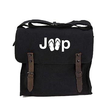 0e024b4039f2 Jeep with Flip Flops Heavyweight Canvas Medic Shoulder Bag