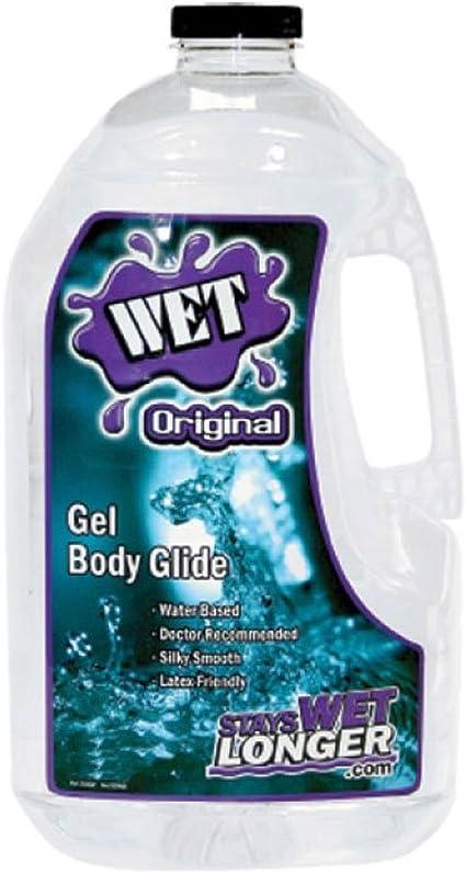 Gallon jug of sex lube