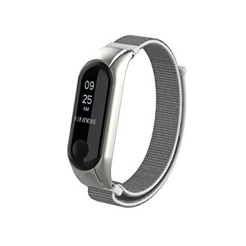 Pulsera Xiaomi Mi Band 3 Correa de Reloj Elegante Reemplazo de Bandas para Mi Band 3-Lienzo de Bucle de Moda