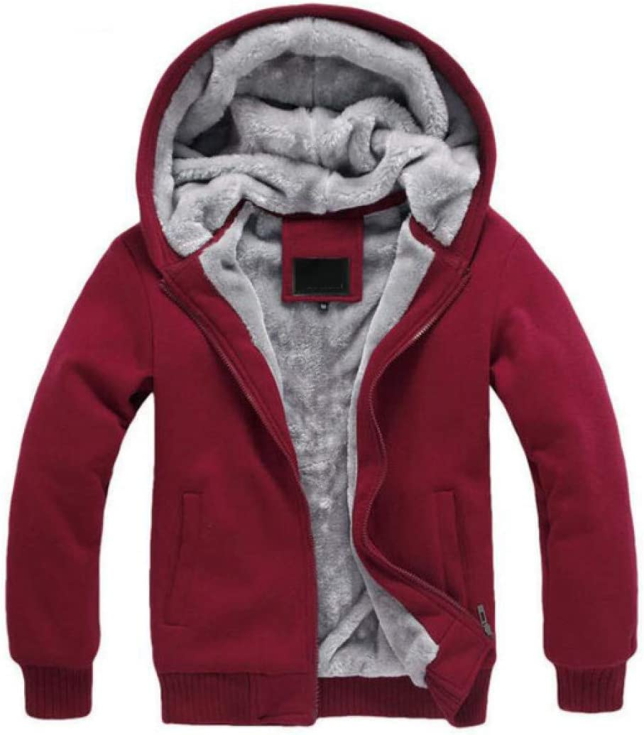 YUFUFU Autumn and winter new cotton jacket women loose winter neutral hooded thickening red