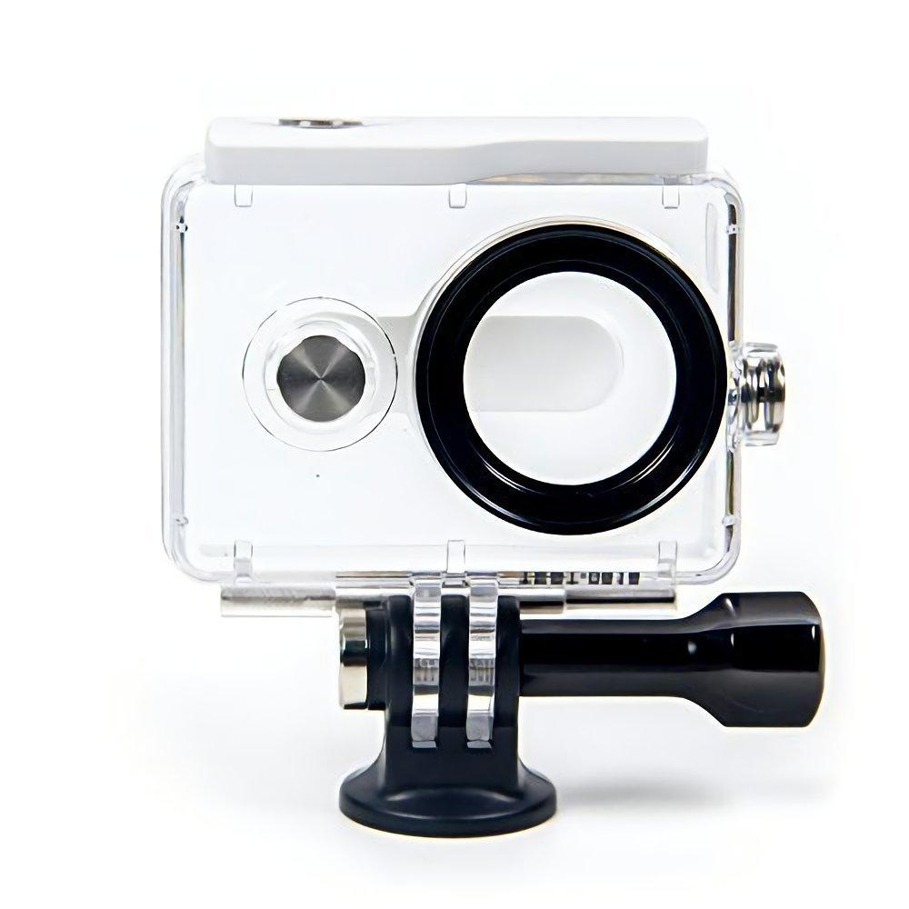 YI Carcasa resistente al agua para 4K Cámara de acción (accesorios oficiales), color blanco YI Technology 91010