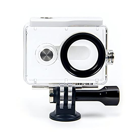 YI 88104 Action Camera Waterproof Case (White) <span at amazon