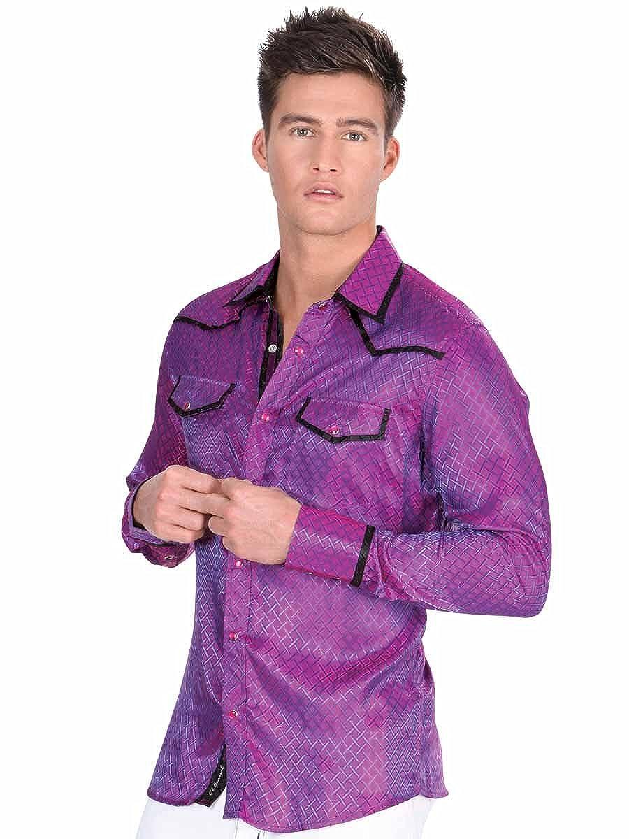 Camisa Vaquera Western Shirt CW L//Sleeve ID 34128 El General Fiusha