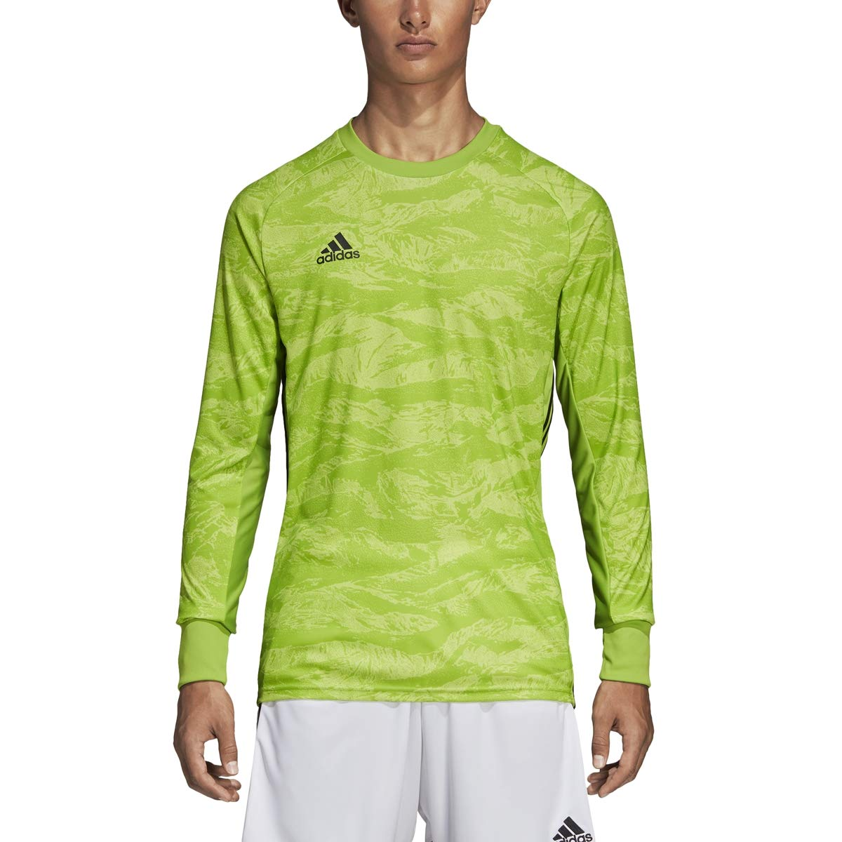 adidas AdiPro 18 Goalkeeper Jersey - Men's Soccer YM Semi Solar Green by adidas