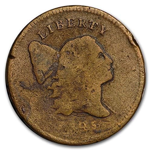 Half Pole (1795 Half Cent Lettered Edge w/Pole VG Cent Very Good)