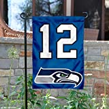 WinCraft Seattle Seahawks 12th Man Double Sided Garden Flag