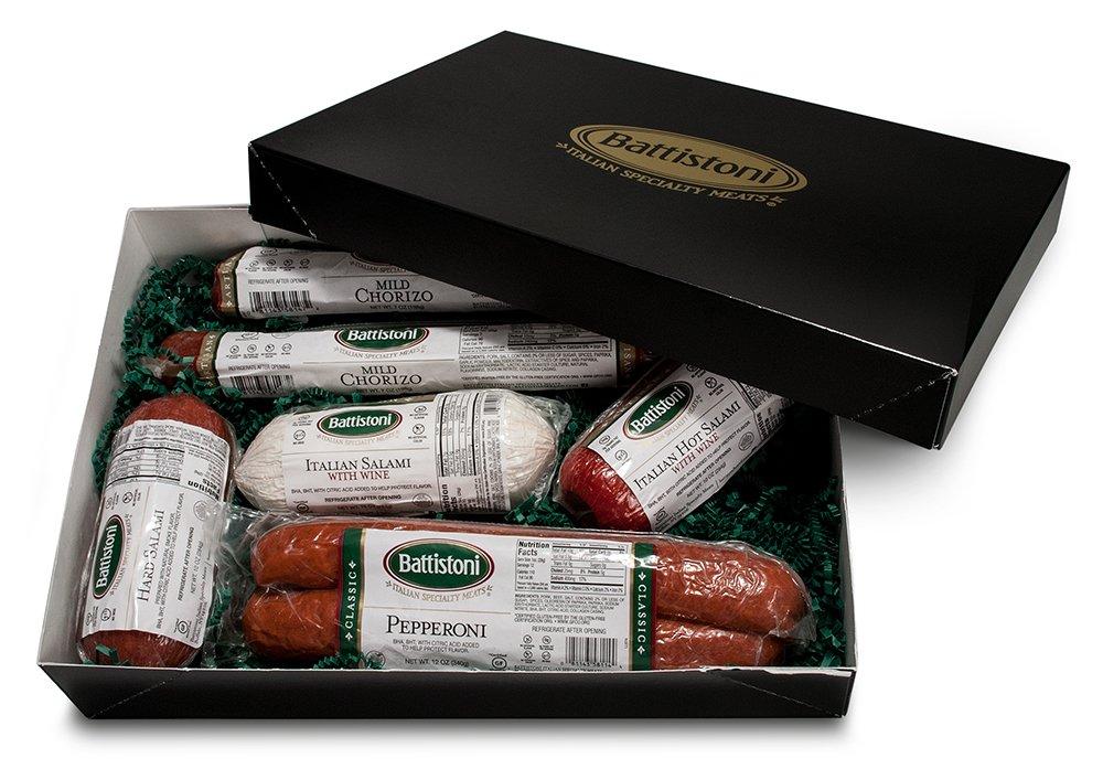 ''Tour of Italy'' Gourmet Italian Meat Sampler Gift Box