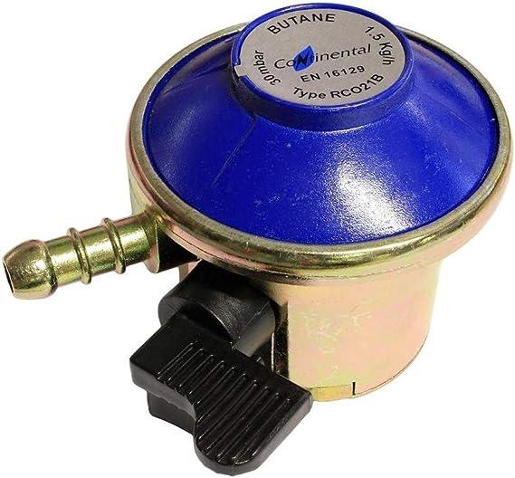 Unipart - Regulador de butano (21 mm, para bombonas de 7 ...